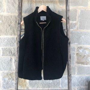 LOFT Fuzzy Vest